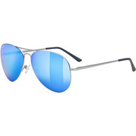 UVEX LGL 45 Glasses silver matt/mirror blue